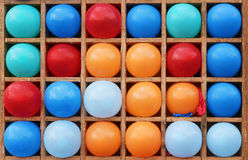 Ballons de couleur Image stock
