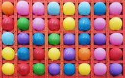 Ballons de couleur Images libres de droits