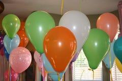 Ballons de f?te d'anniversaire photo libre de droits