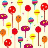 ballons de fond Photos stock