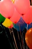 Ballons in de lucht Stock Fotografie