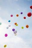 Ballons de mariage Image libre de droits