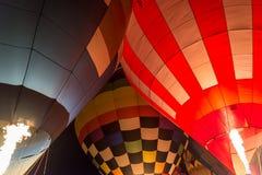 Ballons de nuit Images stock