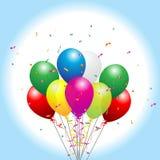 Ballons de réception illustration libre de droits