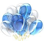 Ballons de réception. Image stock