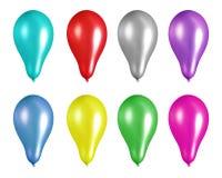 Ballons de réception illustration de vecteur