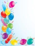 Ballons de réception Photo stock