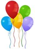 Ballons de réception Images libres de droits
