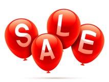 Ballons de vente Images libres de droits