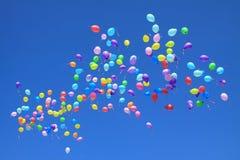 Ballons de vol images stock