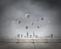 Ballons de vol Photos libres de droits