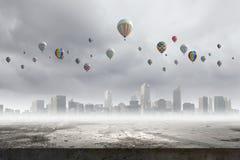 Ballons de vol Image libre de droits