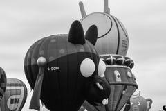 Ballons een Komst en het Gaan royalty-vrije stock foto