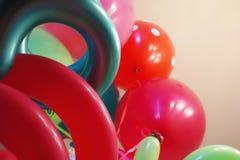 Ballons en Meer Ballons stock foto's