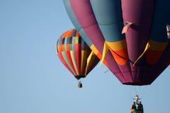 Ballons en vol image libre de droits