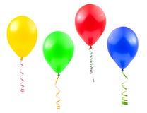 Ballons en wimpel royalty-vrije stock foto