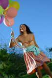 Ballons galore Royalty-vrije Stock Afbeeldingen