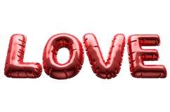 Ballons gonflables d'amour Photo libre de droits