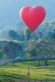 Ballons in hemel, Ballonfestival, Internationale de Ballonfiesta 2017 van Singhapark Stock Afbeeldingen