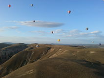 Ballons i Cappadocia Royaltyfria Bilder