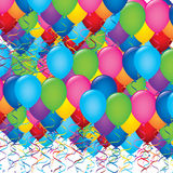 Ballons illustration Royalty Free Stock Photo