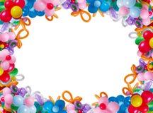 Ballons isolados no branco Fotos de Stock Royalty Free