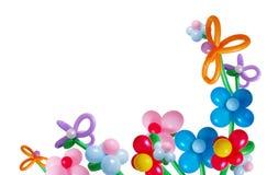 Ballons isolados no branco Imagens de Stock