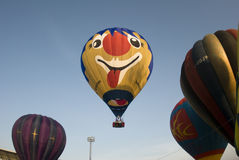 ballons lanserar klart royaltyfria bilder