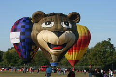 Ballons in Louisville, Kentucky Royalty-vrije Stock Afbeelding