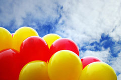 Ballons lumineux Images stock