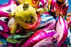 Ballons métalliques Photos libres de droits