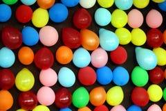 Ballons multicolores Photo libre de droits