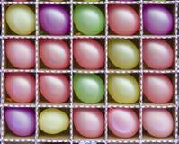 Ballons multicolores Photos libres de droits