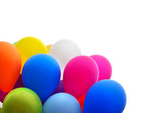 Ballons multicolores photographie stock