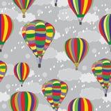 ballons Naadloze textuur Royalty-vrije Stock Fotografie
