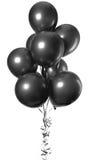 Ballons noirs Photos libres de droits