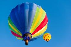 Ballons over Albuquerque royalty-vrije stock foto's