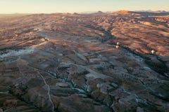 Ballons over Cappadocia. Royalty Free Stock Images