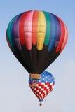 Ballons over Miami royalty-vrije stock afbeeldingen