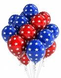Ballons patriotiques illustration de vecteur