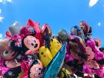 Ballons, populair beeldverhalenclose-up in Krakau royalty-vrije stock foto's