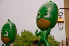 Ballons pour faire à enfants le bonheur du ` s photo libre de droits