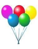 Ballons pour la réception Photographie stock