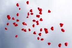 Ballons rouges Photos libres de droits