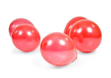 Ballons rouges Images stock