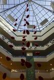 Ballons rouges Image libre de droits