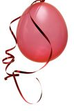 Ballons rouges de réception Images libres de droits