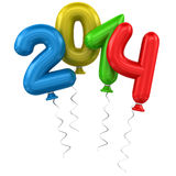 2014 ballons Stock Photography