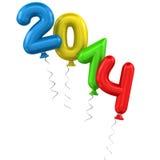 2014 ballons Stock Photos