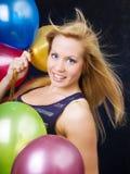 ballons target1337_1_ mienie kobiety fotografia royalty free